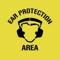 Ear Protection Area Stencil